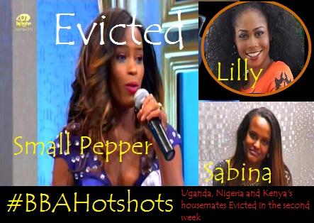 Esther Akankwasa, Lilian and Sabina Evicted