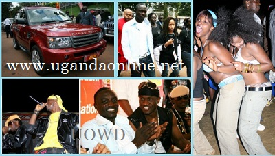 Akon's last visit to Uganda in the year 2008 when he met Susan Owori