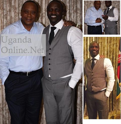 President Uhuru Kenyatta and Akon