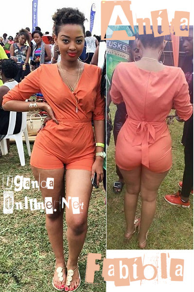 Anita Fabiola proves her curves are real