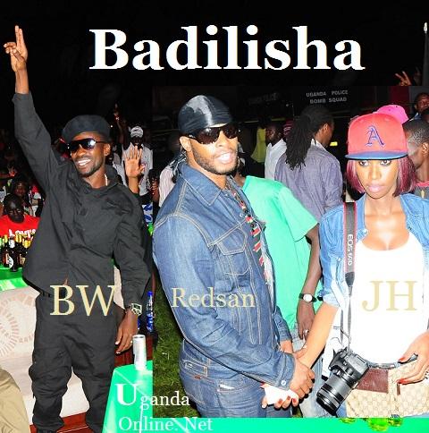 Bobi Wine, Red San and Judith Heard