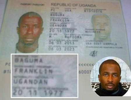 Did Franklin change his name to Baguma?
