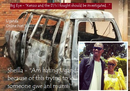 I'm hating Uganda because of this incident - Sheilla