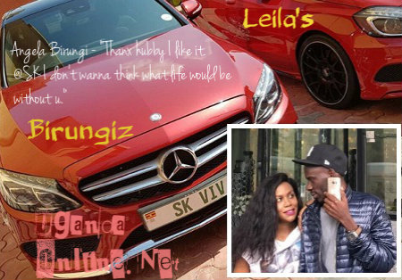 Leila Kayondo's rival now a proud owner of a  red merc