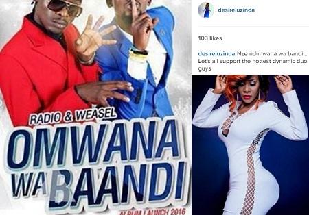 Omwana wa Baandi album launch has less than a month