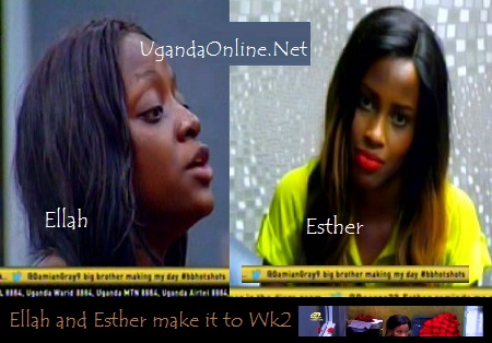 Ellah and Esther make it to week 2 in the Big Brother Hotshots