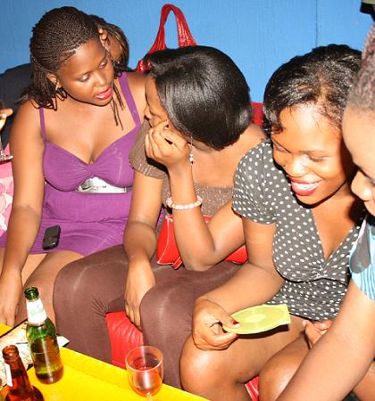 Babes at Silk Lounge during the Goodlyf Crew Show.