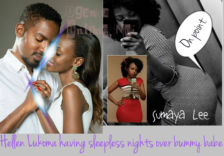 Helen Lukoma's lover dumps her for another babe