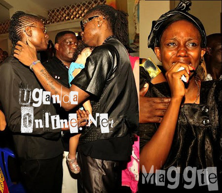 Chameleone and Pallaso and inset is Maggie, AK47's baby mama