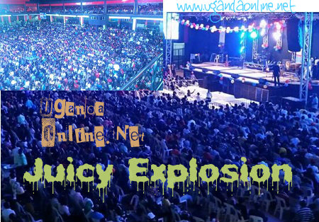 Massive attendance at the Juicy Explosion concert