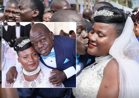 Comedian Kapere and his long time girl friend are married
