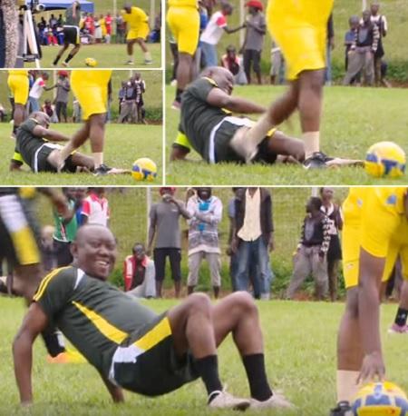 Kato Lubwama was o unfit that he kept on falling