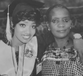 Lydia Jazmine and Mom