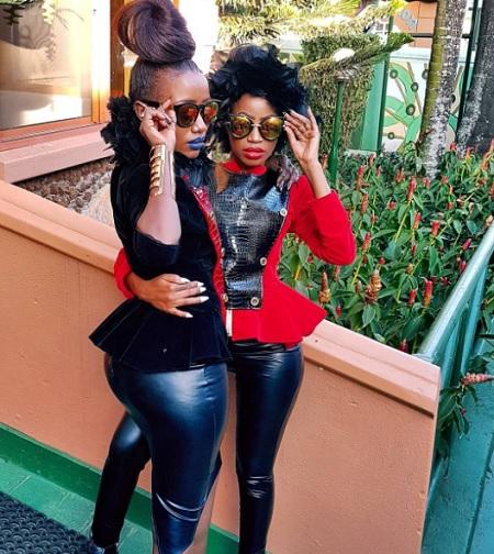 Lydia Jazmine and Sheebah Karungi team up in Omuntu