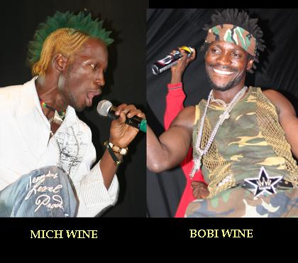 Bobi Wine and Mich Wine