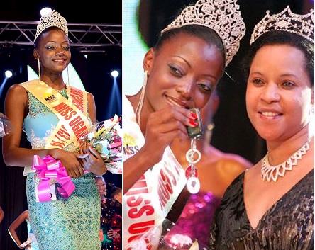 Miss Uganda 2013-2014   President Kivumbi Earnest Benjamin