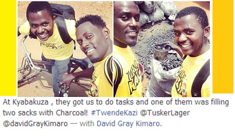 Maurice Kirya and David Kimaro