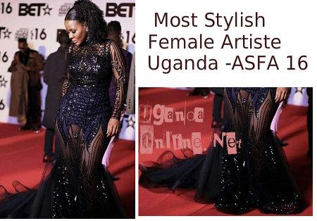 Most Stylish Female Artiste - Uganda - ASFA 2016