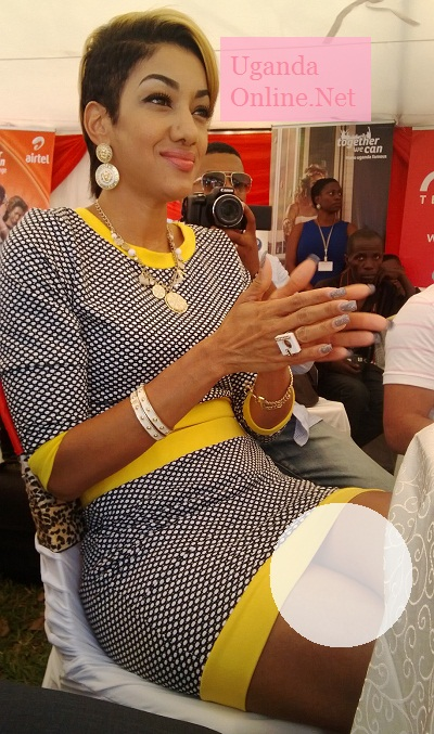 Nyanda Thorbourne at Airtel offices