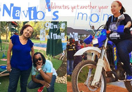 Navio's mom celebrates yet another year