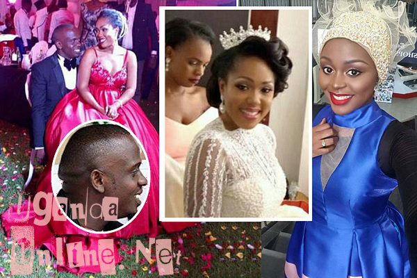 Bukedde TV's Fiona Kirabo on her wedding day