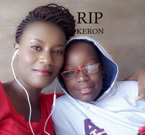 Juliana's only son, Keron, Dead.