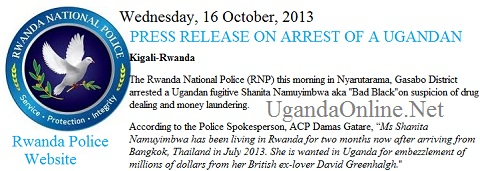 Rwanda Police confirms the arrest of Bad Black