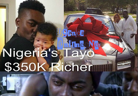 Tayo Gets $350,000 from a Nigerian Billionaire