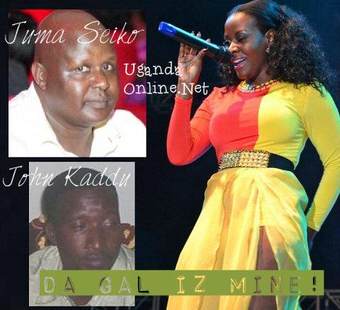 Juma Seiko and John Kaddu both claiming Desire Luzinda's daughter