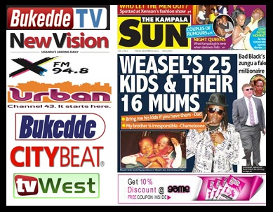 Bukedde, New Vision, X-FM and Urban TV are some of the products by Vision Group and now The Sun Newspaper