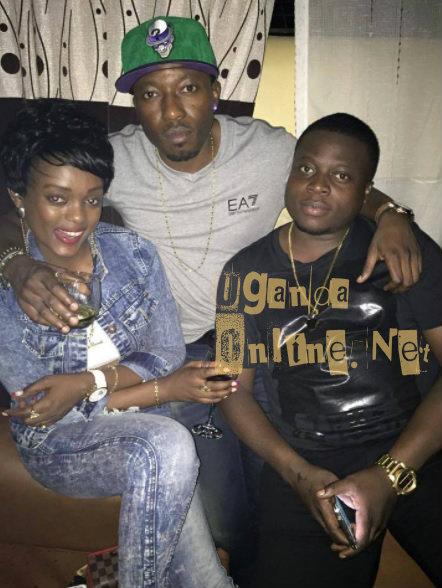 Tracy Bora, King Lawrence and Ivan Semwanga