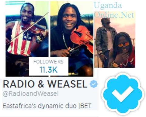 Radio and Weasel's Twitter account is now verified.