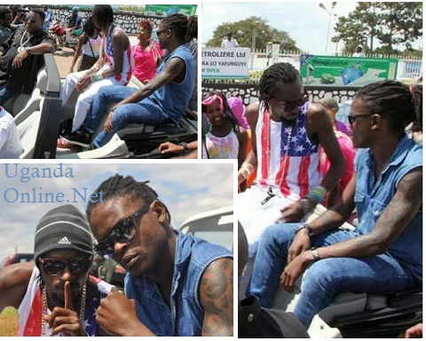 Radio, Weasel and The Ebonies in Kigali this morning