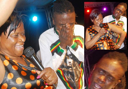 Weasel breaks down as mom begs fans to forgive them