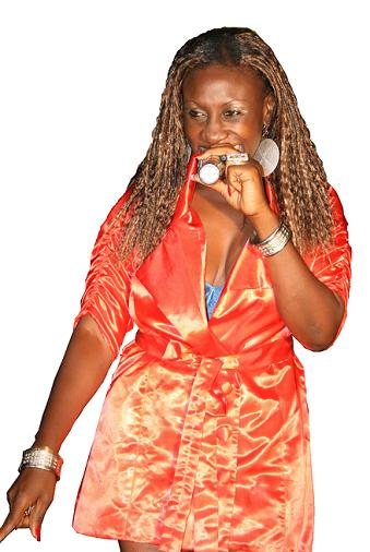 Zawedde Performes at Club Silk Fashion Nite(12.Mar.2009)
