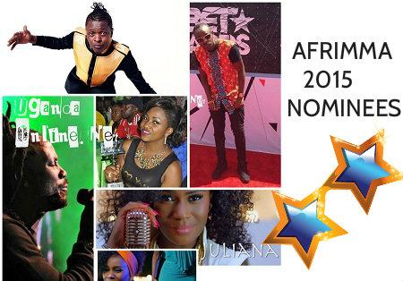 AFRIMMA Uganda nominees 2015