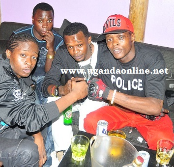 AK47, DJ Shiru and Jose Chameleone