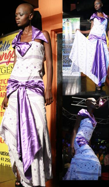 Alek Wek Look-a-like at Kats Fashions, Club Silk