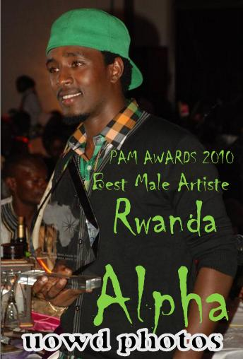 Best Male Artiste Rwanda