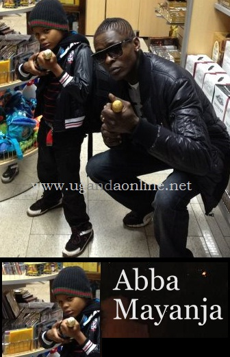 Chameleone and his son in Malaysia