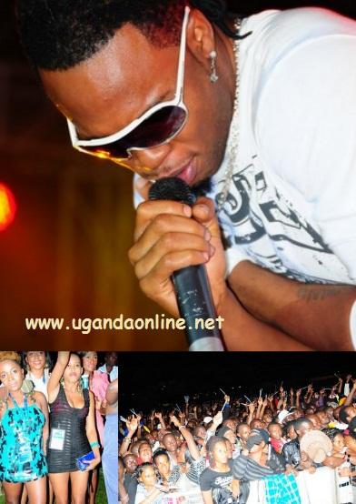 Mr Flavour performs at Lugogo Cricket Oval