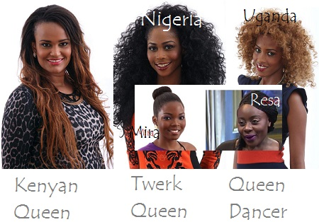 Sabina, Lillian, Esther, Mira and Resa are out of the BBA House