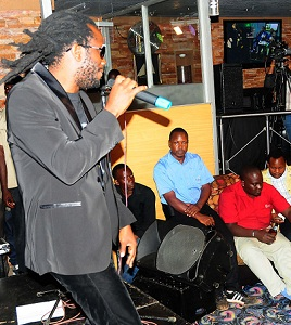 Bebe Cool during his Unplugged Show
