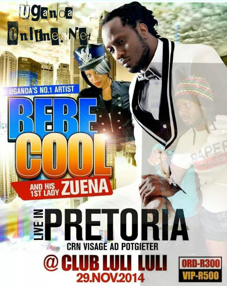 Bebe Cool and Zuena in SA