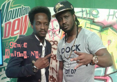 UBC TV host, Calvin and Bebe Cool