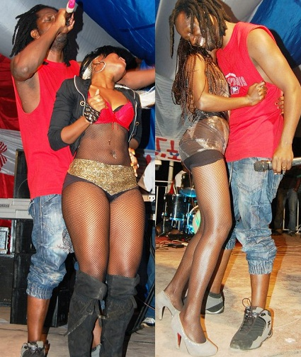 Bebe Cool at KK Beach