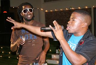 Bebe Cool (Dreadlocks), Sweet Kid(Blue T-Shirt)