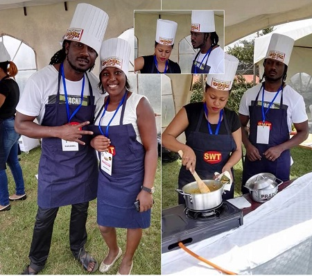 Bebe Cool is all happy while with another gal