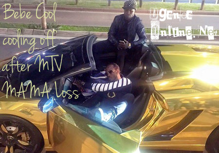 Bebe Cool gets a feel of Katsha's Lamborghini