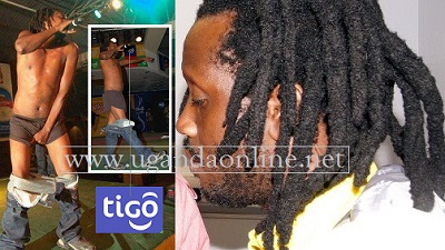 Afande Sele performing at a Tigo promo compared with Bebe Cool's